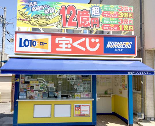 愛知県で年末ジャンボ宝くじのよく当たる売り場の参考画像
