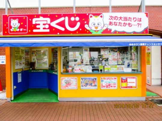 奈良で年末ジャンボ宝くじがよく当たる売り場の参考画像